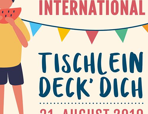 """Bramsche International """"TISCHLEIN DECK DICH"""" 31.08.2019"""