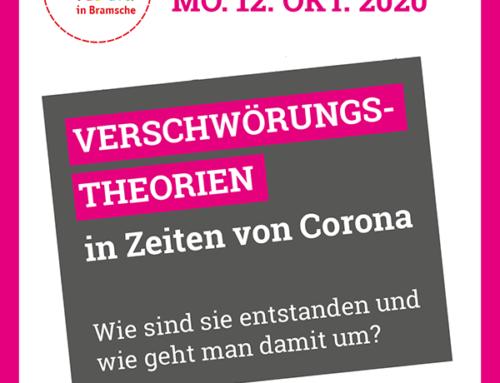 Veranstaltung: Verschwörungs-Theorien in Zeiten in Corona