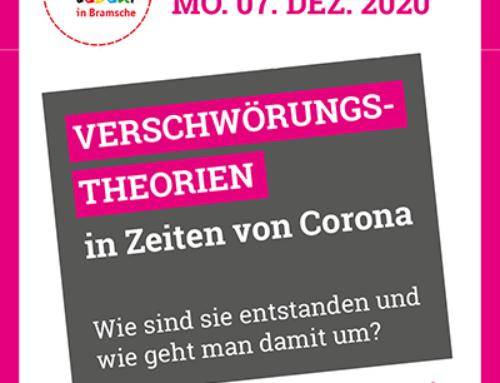 Veranstaltung 07.12.2020: Verschwörungstheorien